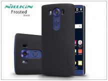 LG V10 H960A hátlap képernyővédő fóliával - Nillkin Frosted Shield - fekete