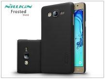 Samsung G6000 Galaxy On7 hátlap képernyővédő fóliával - Nillkin Frosted Shield - fekete