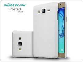 Samsung G6000 Galaxy On7 hátlap képernyővédő fóliával - Nillkin Frosted Shield - fehér