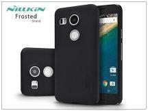 LG Nexus 5X hátlap képernyővédő fóliával - Nillkin Frosted Shield - fekete