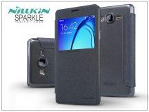 Samsung G6000 Galaxy On7 oldalra nyíló flipes tok - Nillkin Sparkle - fekete