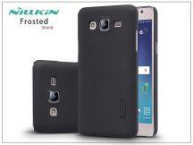Samsung SM-G550 Galaxy On5 hátlap képernyővédő fóliával - Nillkin Frosted Shield - fekete