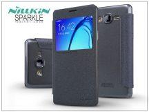 Samsung SM-G550 Galaxy On5 oldalra nyíló flipes tok - Nillkin Sparkle - fekete