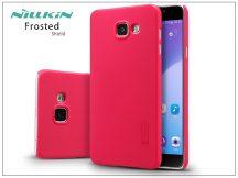 Samsung A710F Galaxy A7 (2016) hátlap képernyővédő fóliával - Nillkin Frosted Shield - piros