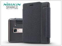 LG Zero H650 oldalra nyíló flipes tok - Nillkin Sparkle - fekete