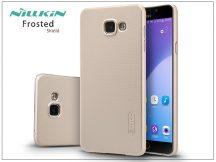 Samsung A510F Galaxy A5 (2016) hátlap képernyővédő fóliával - Nillkin Frosted Shield - golden