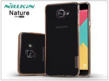 Samsung A710F Galaxy A7 (2016) szilikon hátlap - Nillkin Nature - aranybarna