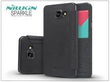 Samsung A510F Galaxy A5 (2016) oldalra nyíló flipes tok - Nillkin Sparkle - fekete