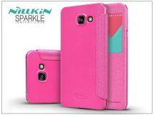 Samsung A510F Galaxy A5 (2016) oldalra nyíló flipes tok - Nillkin Sparkle - pink