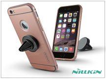 Apple iPhone 6 Plus/6S Plus hátlap szellőzőrácsba illeszthető mágneses autós tartóval - Nillkin Car Holder - pink