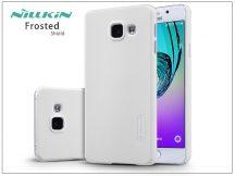 Samsung A310F Galaxy A3 (2016) hátlap képernyővédő fóliával - Nillkin Frosted Shield - fehér