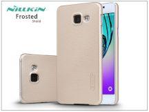 Samsung A310F Galaxy A3 (2016) hátlap képernyővédő fóliával - Nillkin Frosted Shield - golden