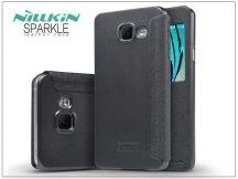 Samsung A310F Galaxy A3 (2016) oldalra nyíló flipes tok - Nillkin Sparkle - fekete