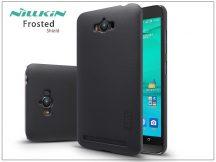 Asus ZenFone Max (ZC550KL) hátlap képernyővédő fóliával - Nillkin Frosted Shield - fekete