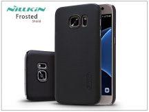 Samsung G930F Galaxy S7 hátlap képernyővédő fóliával - Nillkin Frosted Shield - fekete