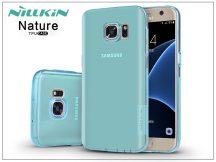 Samsung G930F Galaxy S7 szilikon hátlap - Nillkin Nature - kék