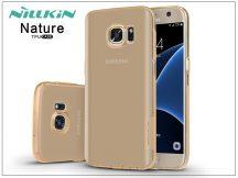 Samsung G930F Galaxy S7 szilikon hátlap - Nillkin Nature - aranybarna