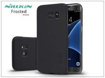 Samsung G935F Galaxy S7 Edge hátlap képernyővédő fóliával - Nillkin Frosted Shield - fekete