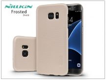 Samsung G935F Galaxy S7 Edge hátlap képernyővédő fóliával - Nillkin Frosted Shield - golden