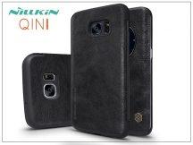 Samsung G935F Galaxy S7 Edge oldalra nyíló flipes tok - Nillkin Qin - fekete