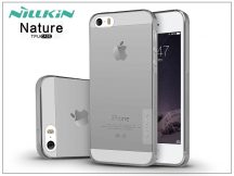 Apple iPhone 5/5S/SE szilikon hátlap - Nillkin Nature - szürke