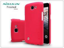 LG K4 K120E hátlap képernyővédő fóliával - Nillkin Frosted Shield - piros