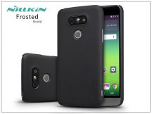 LG G5 H850 hátlap képernyővédő fóliával - Nillkin Frosted Shield - fekete