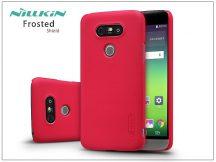 LG G5 H850 hátlap képernyővédő fóliával - Nillkin Frosted Shield - piros