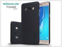 Samsung J510FN Galaxy J5 (2016) hátlap képernyővédő fóliával - Nillkin Frosted Shield - fekete