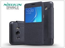 Samsung J510FN Galaxy J5 (2016) oldalra nyíló flipes tok - Nillkin Sparkle - fekete