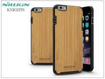 Apple iPhone 6 Plus/6S Plus hátlap - Nillkin Knights Natural - bambusz/fekete