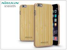 Apple iPhone 6 Plus/6S Plus hátlap - Nillkin Knights Natural - bambusz/gold