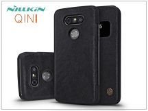 LG G5 H850 oldalra nyíló flipes tok - Nillkin Qin - fekete