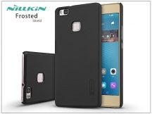 Huawei P9 Lite hátlap képernyővédő fóliával - Nillkin Frosted Shield - fekete
