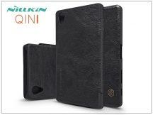 Sony Xperia X Performance (F8132) oldalra nyíló flipes tok - Nillkin Qin - fekete