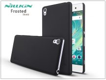Sony Xperia XA (F3112/F3116) hátlap képernyővédő fóliával - Nillkin Frosted Shield - fekete