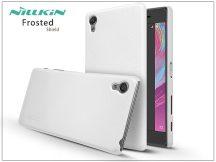 Sony Xperia X (F5121) hátlap képernyővédő fóliával - Nillkin Frosted Shield - fehér