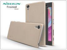 Sony Xperia X (F5121) hátlap képernyővédő fóliával - Nillkin Frosted Shield - gold