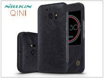 HTC 10 oldalra nyíló flipes tok - Nillkin Qin - fekete
