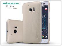 HTC 10 hátlap képernyővédő fóliával - Nillkin Frosted Shield - gold