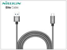 USB - USB Type-C adat- és töltőkábel 1 m-es vezetékkel - Nillkin Elite Cable Type-C USB 3.0 - szürke