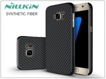 Samsung G930F Galaxy S7 hátlap - Nillkin Synthetic Fiber - fekete