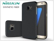 Samsung G935F Galaxy S7 Edge hátlap - Nillkin Synthetic Fiber - fekete