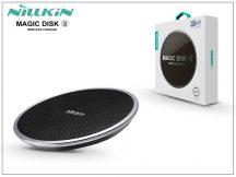 Nillkin Qi univerzális vezeték nélküli töltő állomás - 5V/2A - Nillkin Magic Disk III Wireless Fast Charger - fekete - Qi szabványos
