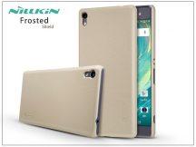 Sony Xperia XA Ultra (F3212/F3216) hátlap képernyővédő fóliával - Nillkin Frosted Shield - gold