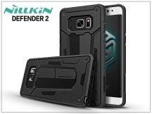 Samsung N930F Galaxy Note 7 ütésálló védőtok - Nillkin Defender 2 - fekete