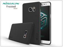 Samsung N930F Galaxy Note 7 hátlap képernyővédő fóliával - Nillkin Frosted Shield - fekete