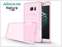 Samsung N930F Galaxy Note 7 szilikon hátlap - Nillkin Nature - pink
