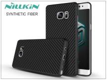 Samsung N930F Galaxy Note 7 hátlap - Nillkin Synthetic Fiber - fekete
