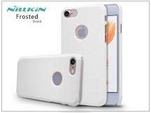 Apple iPhone 7 hátlap képernyővédő fóliával - Nillkin Frosted Shield - fehér